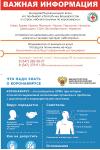 Важная информация - коронавирусная инфекция COVID-19 (памятка)